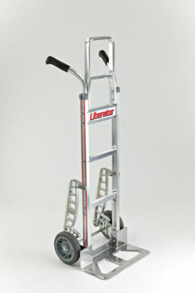 """Double grip with 8"""" balloon cushion wheels, stairclimber and 52"""" extension"""