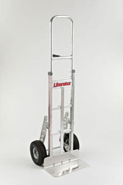 """Single pin grip at 46"""" with 10"""" pneumatic wheels and stairclimber"""