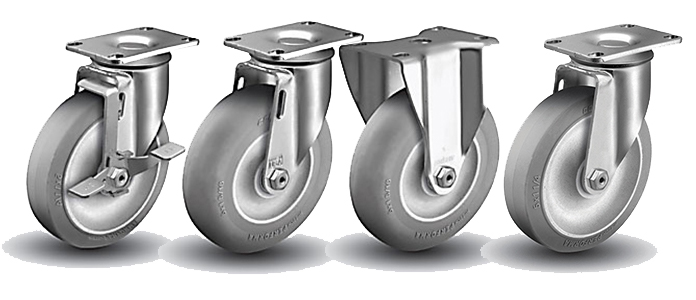 Stainless Steel Casters: Food Service Casters