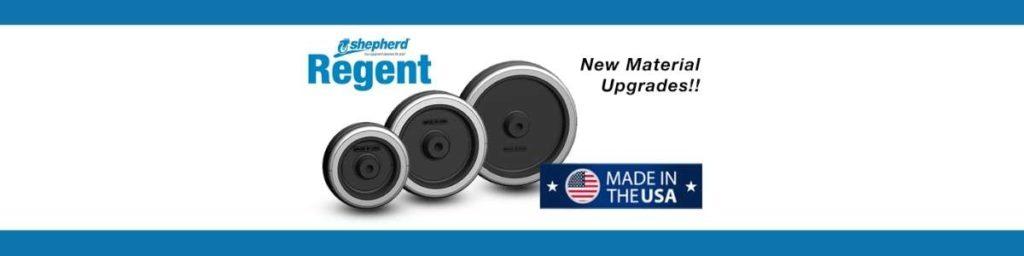 Shepherd Regent Series Material Upgrades!